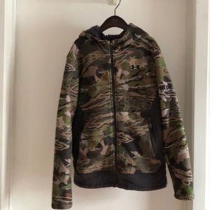 Under Armour teenage boy fleece jacket